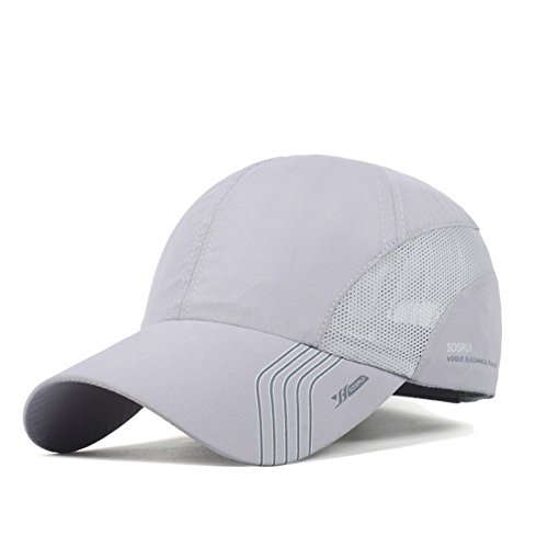 Clape Moda Breve Tesa in Twill di Cotone Berretto da Baseball Sport Outdoor Anti Sudore Sunscreen Solido Stile Trucker//Baseball Cappello