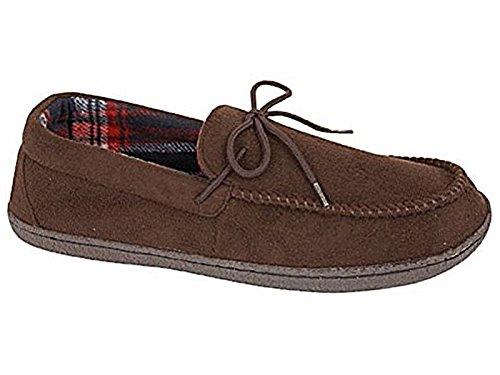 Foster Footwear ,  Jungen Unisex Erwachsene Herren Damen Flache Hausschuhe Dunkelbraun