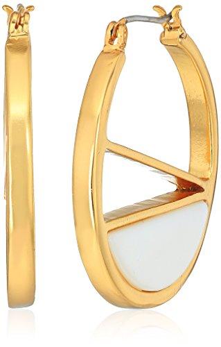 t-tahari-mother-of-pearl-inlay-gold-brown-hoop-earrings