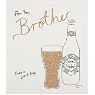 Hallmark Brother Birthday Card 'Great Day' - Medium