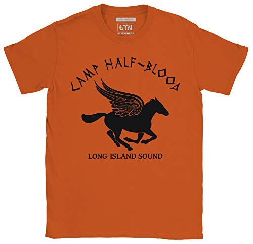 Camp halb Blood T-Shirt - Orange, Large