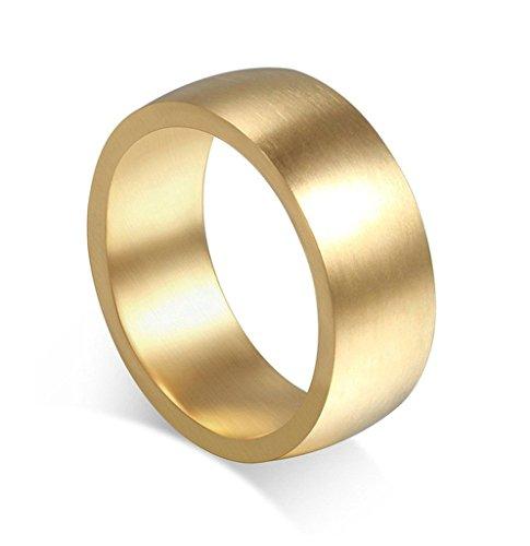 edelstahlring-damen-ringe-gold-poliert-runde-archaistisch-fleck-eheringe-diamant-bandring-grosse-67-