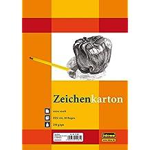Idena 212061 Zeichenkarton extra stark, DIN A4, 250 g / m², 50 Bogen