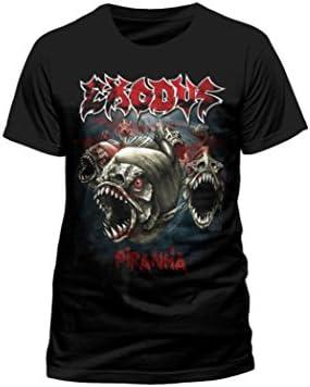 Camiseta, diseño de pirañas con palabra