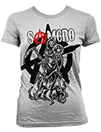Officiellement Marchandises Sous Licence Samcro Reaper Splash Femme T-Shirt