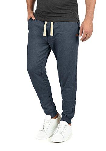 Blend Tilo Herren Sweatpants Jogginghose Sporthose Mit Fleece-Innenseite Und Kordel Regular Fit, Größe:XL, Farbe:Navy (70230) - Gerippt Wolle Blend