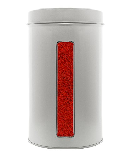 Paprika geräuchert, ungarischer Rauchpaprika mit mild - würzigem Buchenrauch. XL Gastro - Dose 800g.