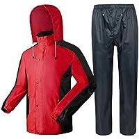 Angelsport Paladin Regenanzug Gr L Jacke Poncho Hose Mantel grün Set mit Kapuze
