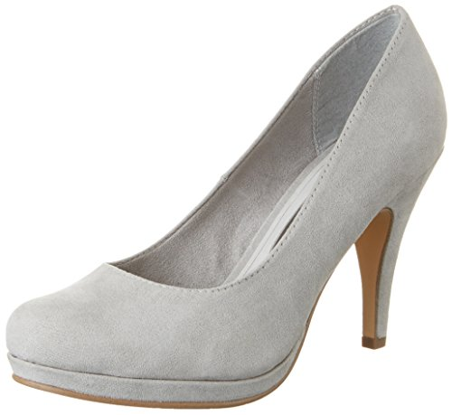 Tamaris Damen 22407 Pumps, Grau (Grey 200), 39 EU