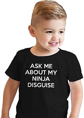 Ninja Tortue Costumes Chemises - Crazy Dog TShirts - Toddler Ask Me