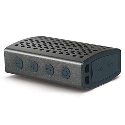 (EMOS Tiffy Soundbox Bluetooth Lautsprecher Stahlgrau)