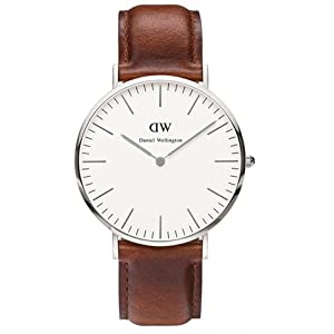 Daniel Wellington – Reloj analógico para caballero con pulsera de