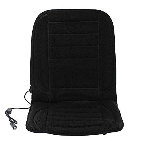 Preisvergleich Produktbild Demiawaking Universal Auto 12V Heizung Wärmer Pad Cover Beheizte Sitzkissen (Schwarz)