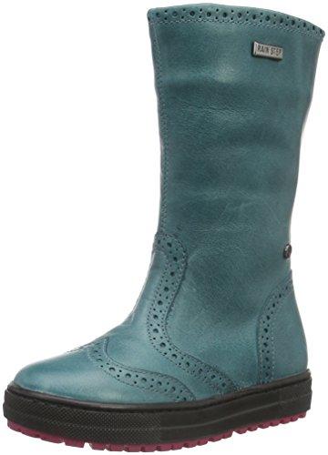 Naturino FAL001350116201 - Stivali alti imbottiti caldi Ragazza, colore Verde (Erdoel_9102), taglia 31 EU
