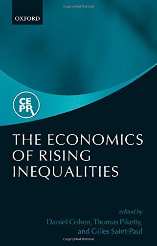 The Economies of Rising Inequalities by Daniel Cohen (Editor), Thomas Piketty (Editor) � Visit Amazon's Thomas Piketty Page search results for this author Thomas Piketty (Editor), Gilles Saint-Paul (Editor) (24-Oct-2002) Hardcover