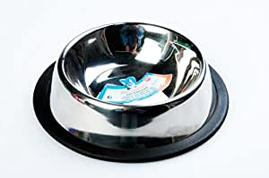 Stainless Steel Cat Bowl - 0.2 l/ø 11 cm - UNBREAKABLE!