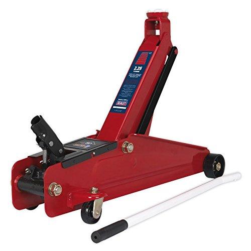 Sealey 1025HL - Sollevatore idraulico a carrello, solleva 2,25 tonnellat
