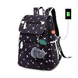 KHDJH Kinderrucksack Mode schule Rucksack für mädchen schule taschen Neue ankunft Kinder rucksäcke Kinder Nette USB Tasche schul Bookbag Q A