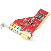 شبكات الكمبيوتر ESS 4 Channel PCI Sound Card شبكات الكمبيوتر
