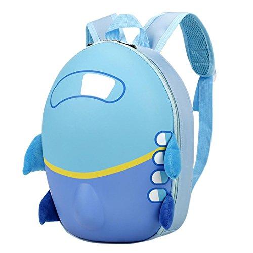 sunnymi Unisex Gute Qualität★Kinder Harte Rucksack★Schule Baby-Kindergarten/Kinder Gartentasche/Small Aircraft Eggshell Muster /Mini Backpack Mädchen Jungen (Kostüm Boy Preppy)