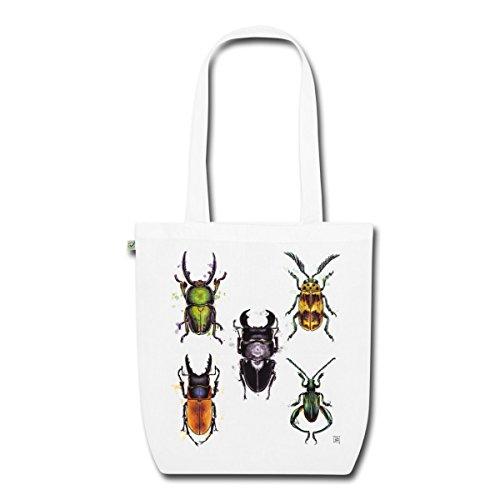 Spreadshirt In Beetle Tessuto Borsa Bianco Organico wY4ZTq