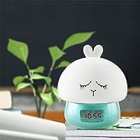 Etbotu Nachtlicht USB Lade Cute Patting mit Fernbedienung Wecker Aufnahmefunktion Dekoration Geschenk preisvergleich bei billige-tabletten.eu