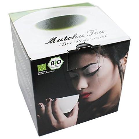 The Coffee and Tea Company Matcha Tea Box ProfessionalKit complet Le Matcha pour les professionnels