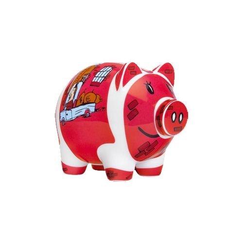 Thomas Wallmeyer 2008 / Ritzenhoff / Piggy Bank / Sammlerstück / Porzellan / Spardose (Schwein Aus Sah)