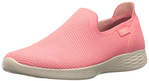 Skechers You Define, Chanclas Mujer, Rosa