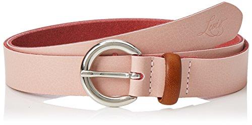 Levi's Damen Gürtel Larkspur, Rosa (Light Pink), 75 (Herstellergröße: 90)