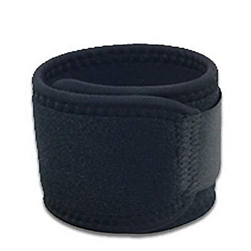 VCB 1 Stück verstellbares Sportarmband unterstützt Karpaltunnel lindert Sehnenentzündung für die Linke Hand - schwarz (Unterstützt Handgelenk Karpaltunnel)