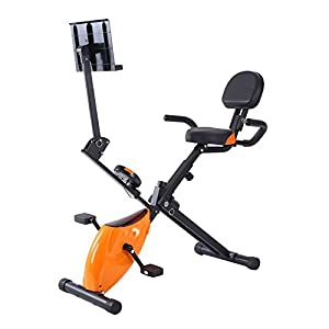 41h Tsn8fVL. SS300  - Sumferkyh Indoor Cycling Home Office Fitness Folding Magnetic Control Rotating Spinning Bicycle Multi-function Lazy Car Calories