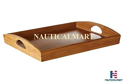 Nauticalmart Plateau de service Premier Housewares – Bambou