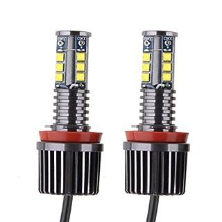 Sunpie H8 120W LED Angel Eyes LED Marker White color LED Bulb Light Kit Car Lamp