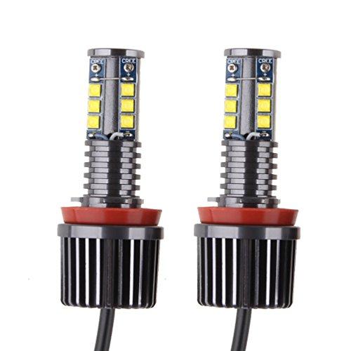 Preisvergleich Produktbild SUNPIE H8 120W LED-Engelsaugen Weiße 6000k