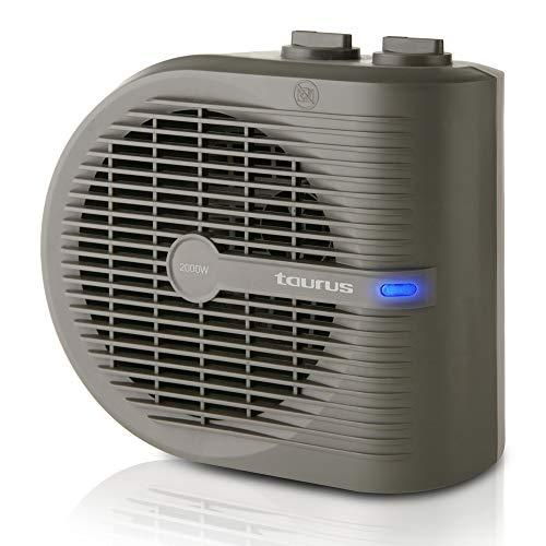 Taurus Tropicano 2.5 - Calefactor, termoventilador,  2 posiciones de calor + función ventilador, 2000...
