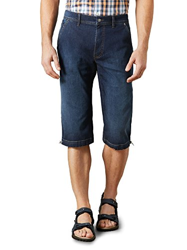 15 Unzen Denim-jeans (Walbusch Herren Ultralight 7/8 Jeans Regular Fit einfarbig Stone 50)