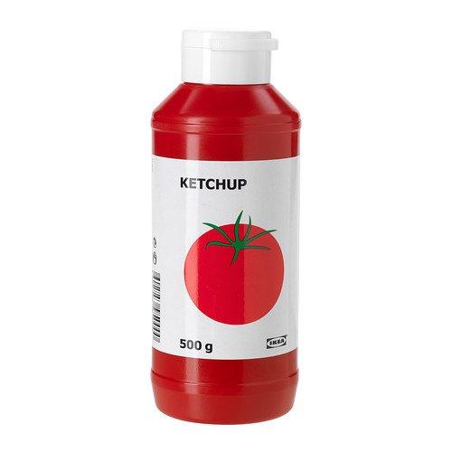 IKEA KETCHUP - Tomatenketchup / 0,5 kg / 0,5 kg