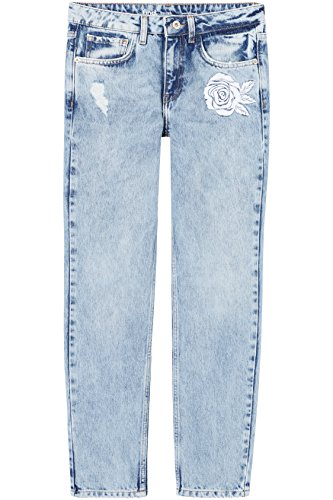 41h WcLRutL - FIND Damen Straight Fit Jeans
