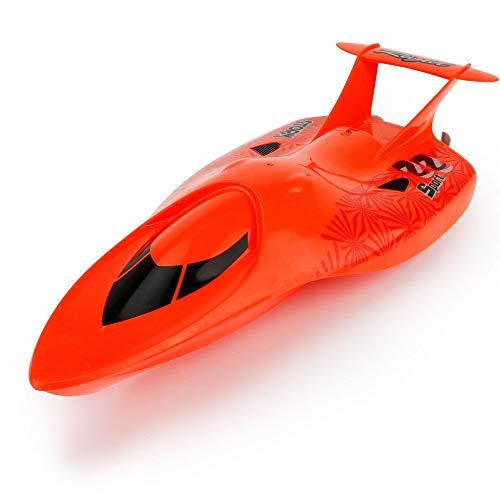 chiff über Reset Kind Erwachsene Bunte Lichter Schiffe Lade 35KM / h Wettbewerb U-Boote 4 Kanäle Hochgeschwindigkeitsfähre Schnellboot Fernbedienung Boot 2.4G Wasser Modell Flugzeu ()
