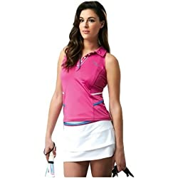 Drop Shot Maxima - Polo para mujer, color fucsia, talla M