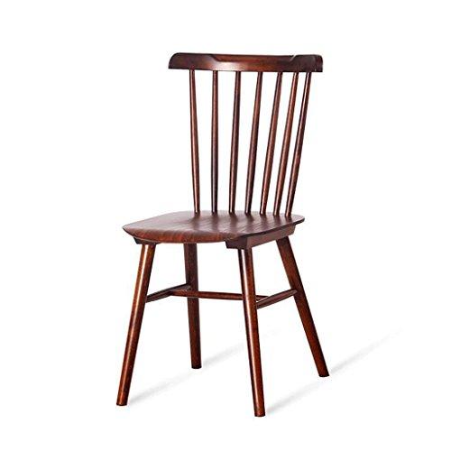 Barhocker Holz Esszimmer Stuhl Startseite Freizeit Stuhl Stühle Cafe Stühle Restaurant Dekoration Stuhl XXT (Farbe : Nussbaum) - Esszimmer Nussbaum Barhocker