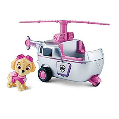 Paw Patrol Basic Vehicle - Skye's High Flyin' Copter