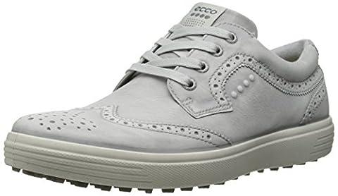 Ecco ECCO MEN'S GOLF CASUAL HYBRID, Chaussures de Golf homme - Ivoire - Elfenbein (CONCRETE01379), 41