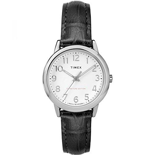 Timex Mixte Adulte Analogique Automatique Montre avec Bracelet en Cuir TW2R65300