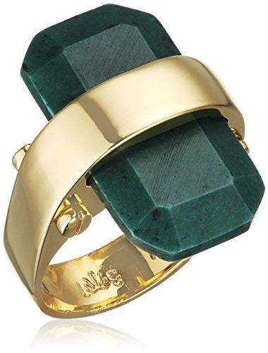 Lele Sadoughi vergoldetes Messing Sandbank Starry Night Ring Preisvergleich