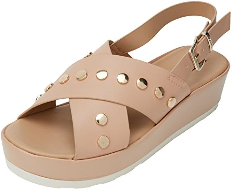 MTNG Damen Fujy Plateausandalen 2018 Letztes Modell  Mode Schuhe Billig Online-Verkauf