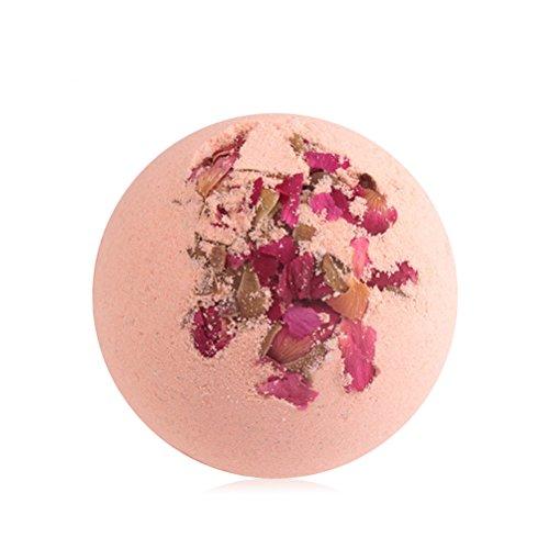 HEALIFTY Bombe da Bagno Bagno di acqua salata Bagno termale di sale da bagno Bagno di olio essenziale per il corpo (Rosa)