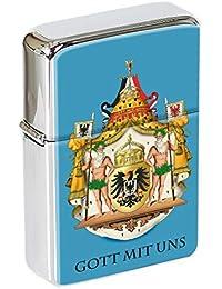Alemania Imperial Escudo Mechero con Tapa