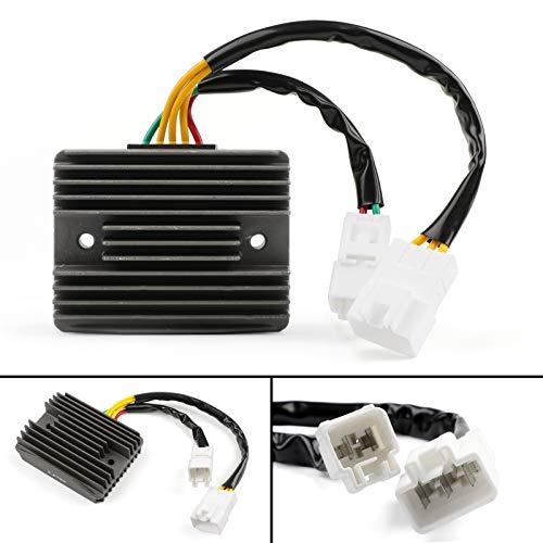 Artudatech Motorrad Spannungsregler Gleichrichter, 12V Voltage Regulator Rectifier Steckerregler für PIA-GGIO VESPA GTV300 GTS MP3 125 250 300 Beverly RST